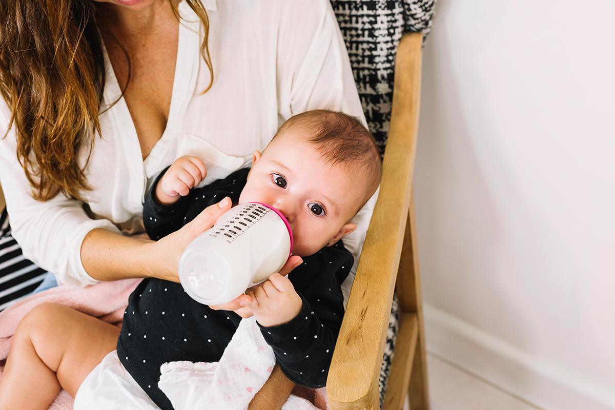 como conservar alimentos como leite materno