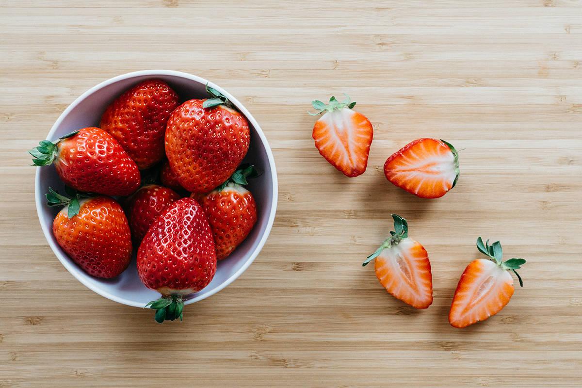 conservar morangos