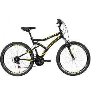 Bicicleta MTB Caloi Andes - Aro 26 - 21 velocidades - Preta