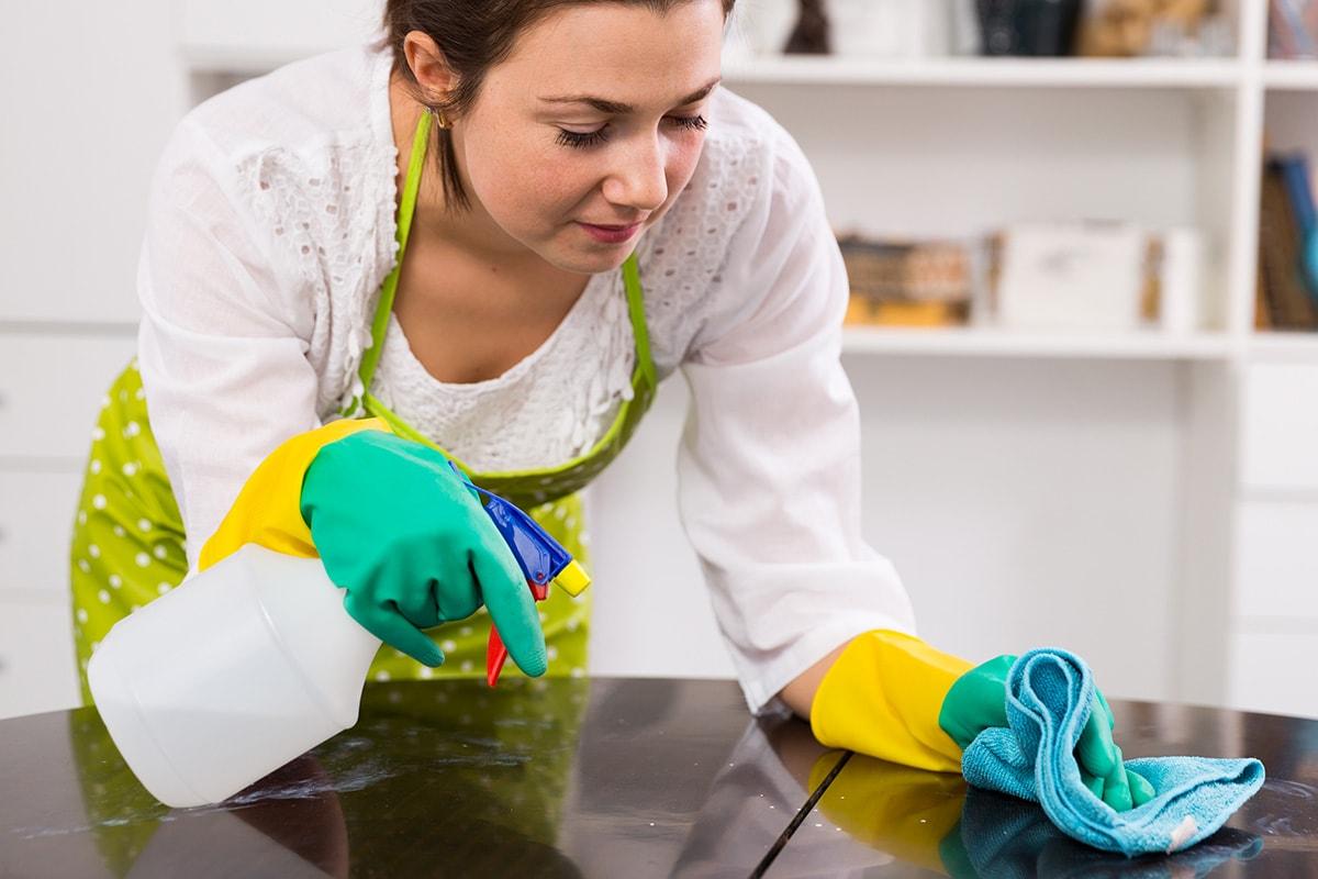 como limpar MDF