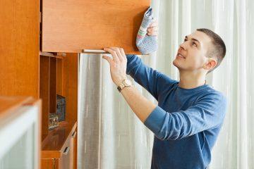 como limpar madeira