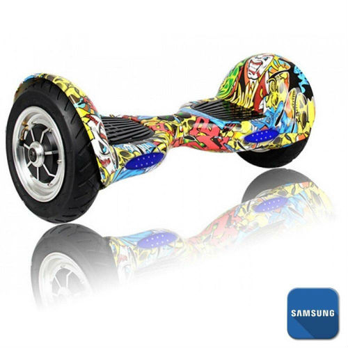 hoverboard estampa clows