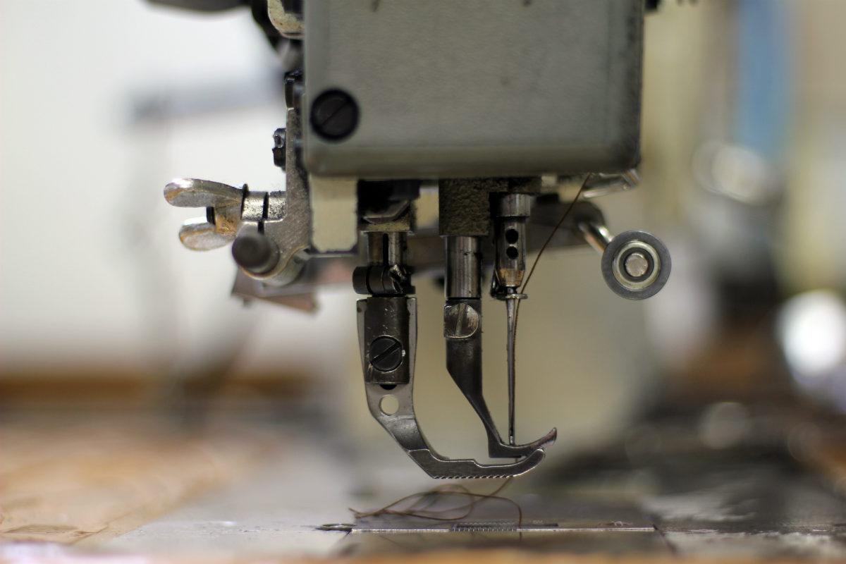 máquina de costura para artesanato