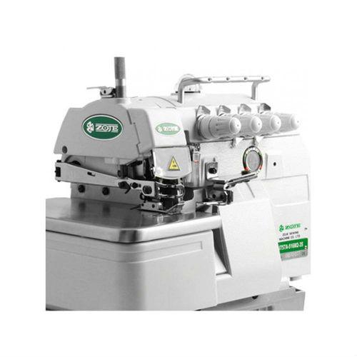 Máquina de costura Interloque Industrial Média,5 fios,2 agulhas,Bivolt,6000PPM - Zoje