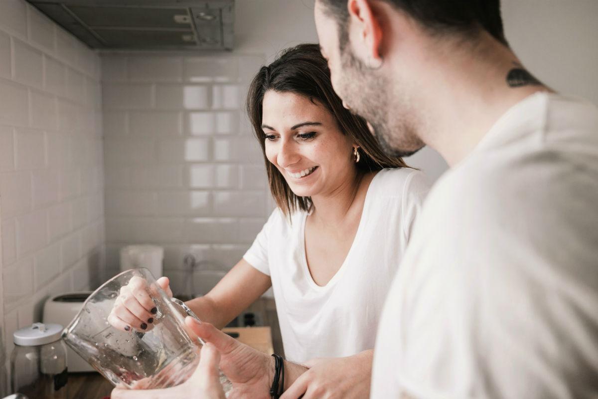 como limpar copos de vidro
