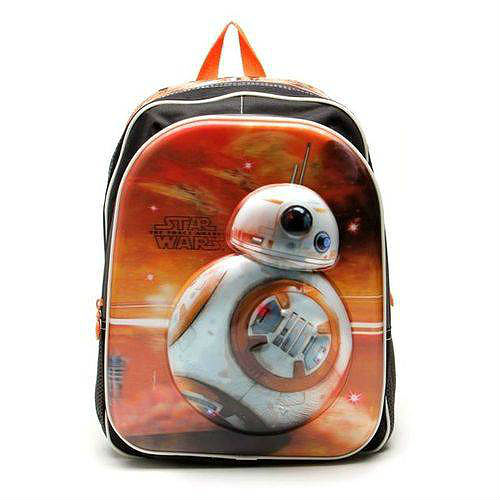 mochila escolar bb8 star wars
