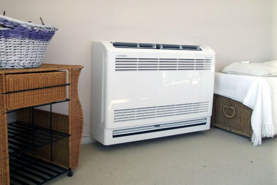 ar-condicionado portátil quente e frio