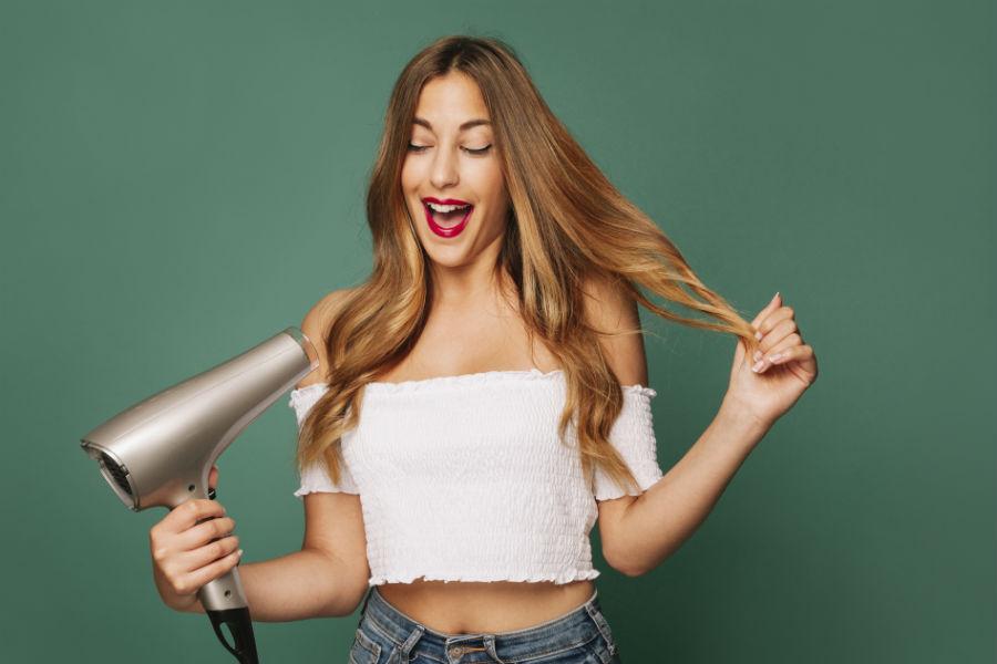 como cuidar do secador de cabelo