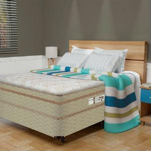 colchão e cama box