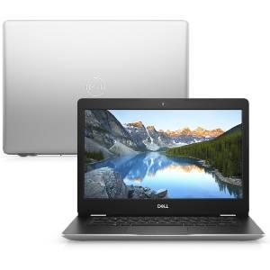 """Notebook Dell Inspiron i14-3480-M30S 8ª Geração Intel Core i5 4GB 1TB 14"""" Windows 10 McAfee Prata"""