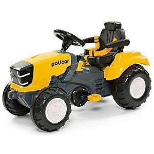Carrinho De Pedal Politractor Poliplac Amarelo