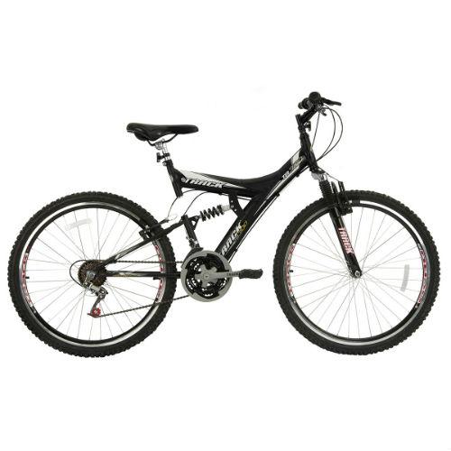 Bicicleta Track Bikes TB 300 XS 300 Aro 26 Com Suspensão Dupla 18v - Preto