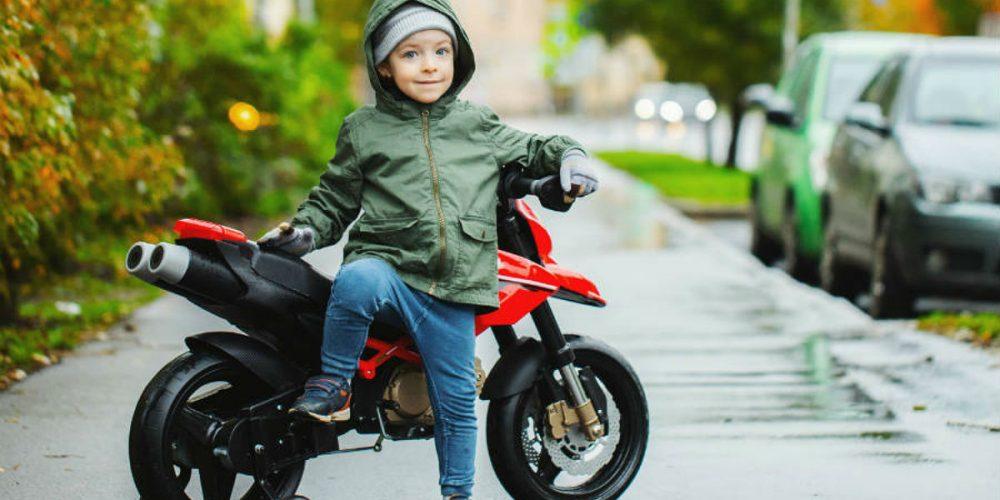 melhor moto elétrica infantil