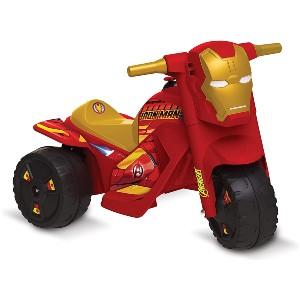 moto elétrica infantil homem de ferro
