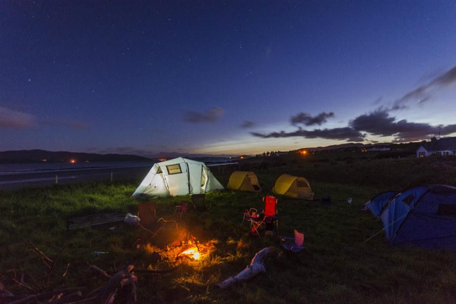o que levar de comida para acampar