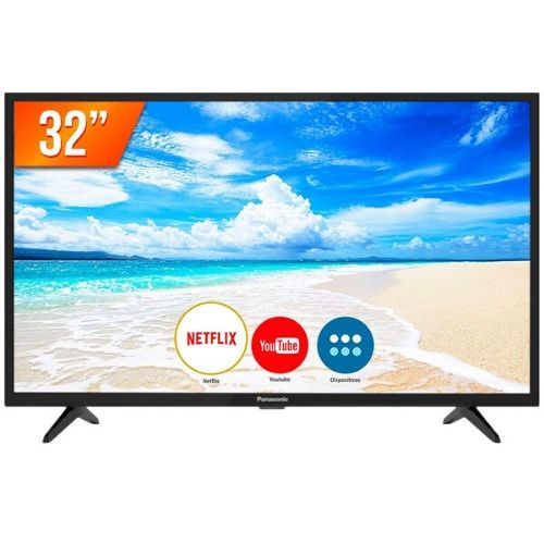 Smart TV 32 polegadas LED HD Panasonic TC-32FS500B